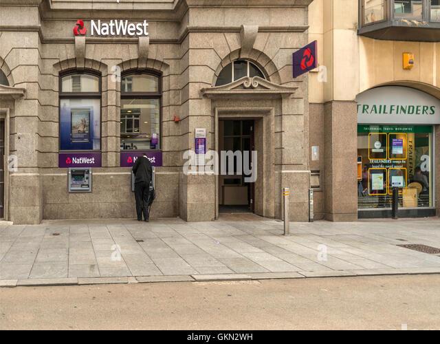 Natwest Bank, Exeter City Centre, Devon - Stock Image