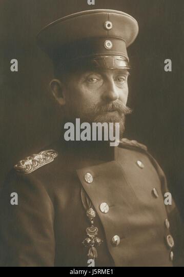 Ferdinand I (1865-1927), King of Romania 1914-27, Portrait, 1915 - Stock Image