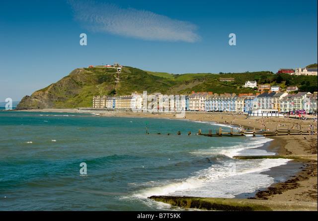 Aberystwyth beach summer stock photos aberystwyth beach for 14 day weather forecast terrace bc