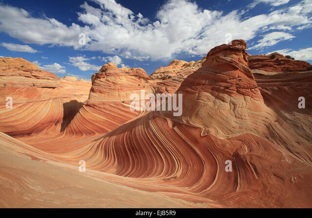 Coyote Buttes North The Wave - Stock Image