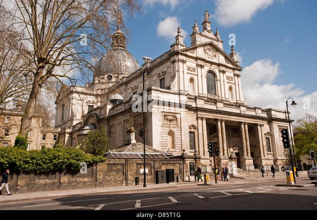 Brompton Catholic Church London England - Stock-Bilder