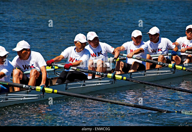 FISA 2014 World Rowing Masters Regatta - Stock Image