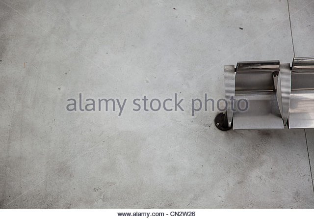 Railway station wall, abstract - Stock Image