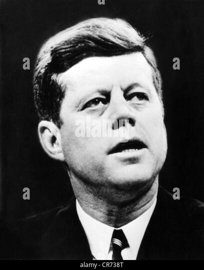 Kennedy, John Fitzgerald, 29.5.1917 - 22.11.1963, American politician (Dem.), President of the USA 20.1.1961 - 22.11.1963, - Stock Image