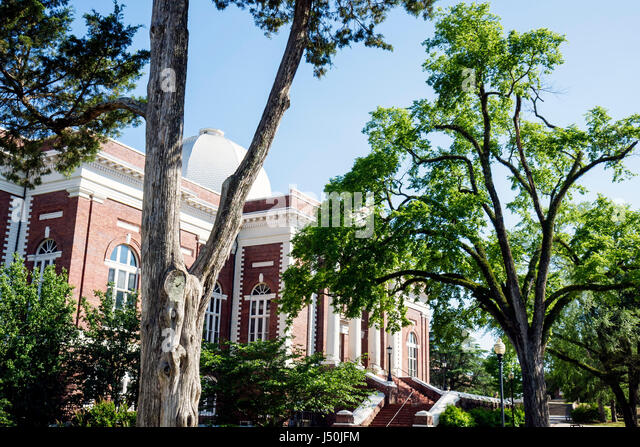 Alabama Tuskegee Tuskegee Institute National Historic Site Tuskegee University Tompkins Hall higher education founded - Stock Image