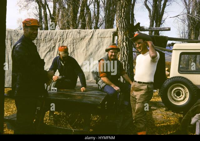 Vintage archival photograph taken in 1968 - Stock Image