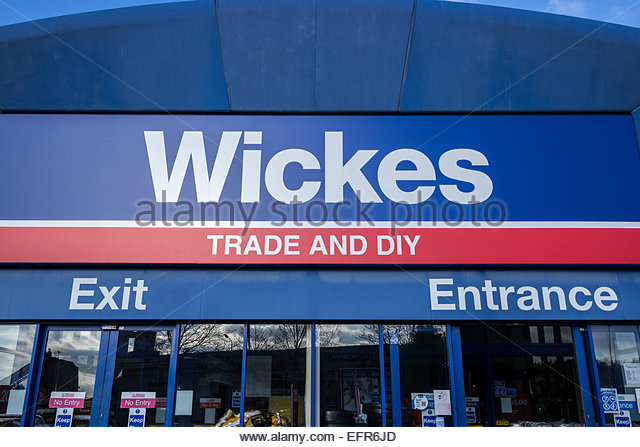 Wickes Trade and DIY Store - Stock Image