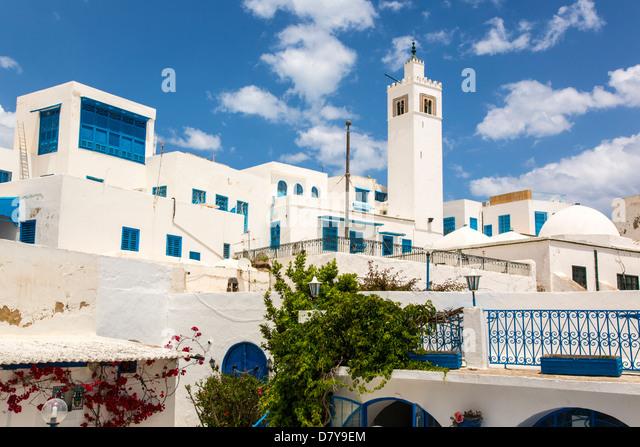 Sidi Bou Said, Tunisia - Stock Image