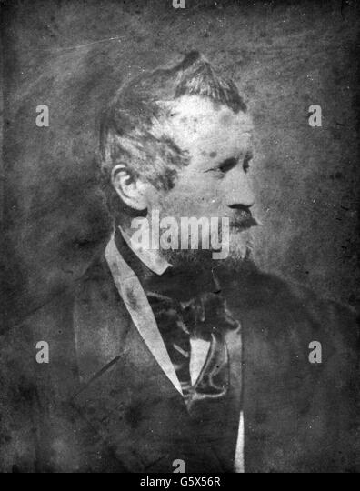 Franz Seraph Hanfstaengl, circa 1850 - Stock-Bilder