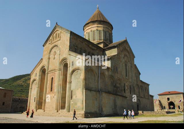 Sweti Zchoweli Church (Unesco World Heritage Site), Mzcheta, Georgia, Asia - Stock-Bilder