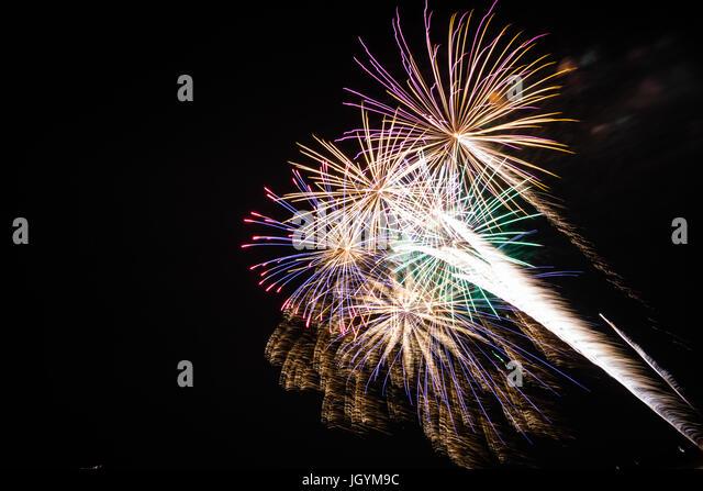 Coney Island Fireworks July