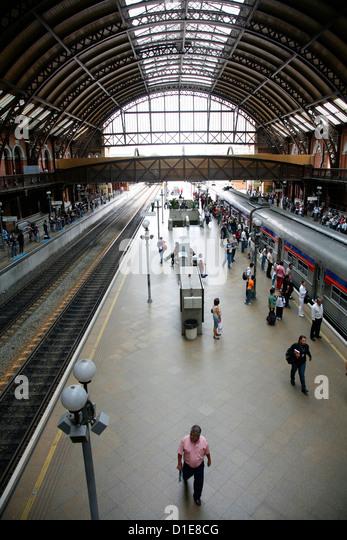 Estacao da Luz train station, Sao Paulo, Brazil, South America - Stock Image