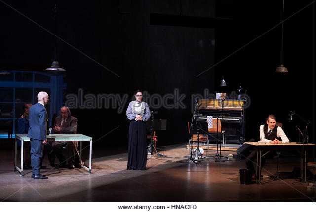 Beware of Pity [Ungeduld des Herzens] by Stefan Zweig.A Complicite and Schaubuhne Berlin Production directed by - Stock Image