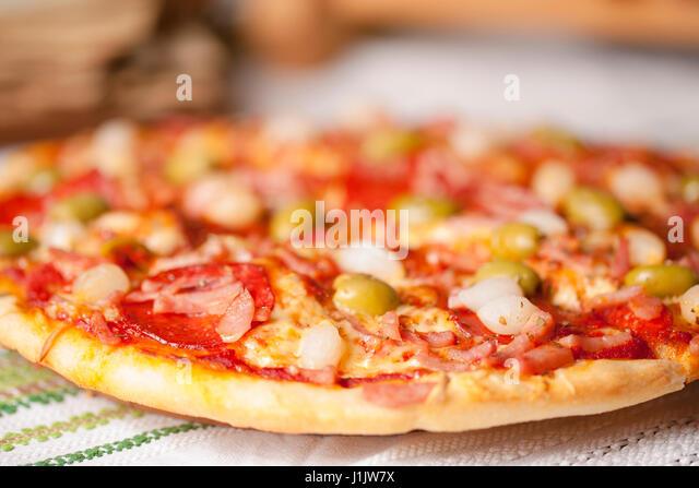 Italian pizza - Stock Image
