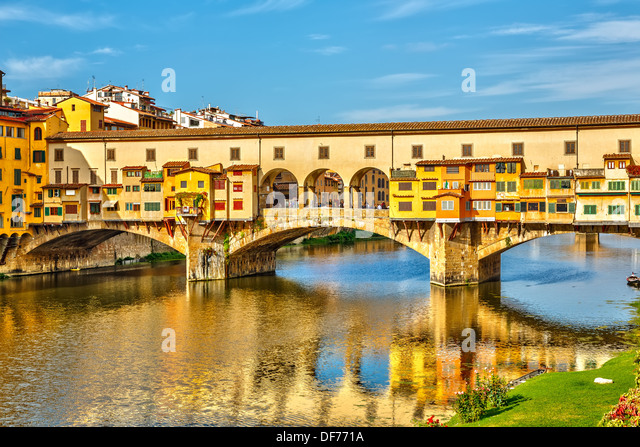Ponte Vecchio in Florence - Stock-Bilder