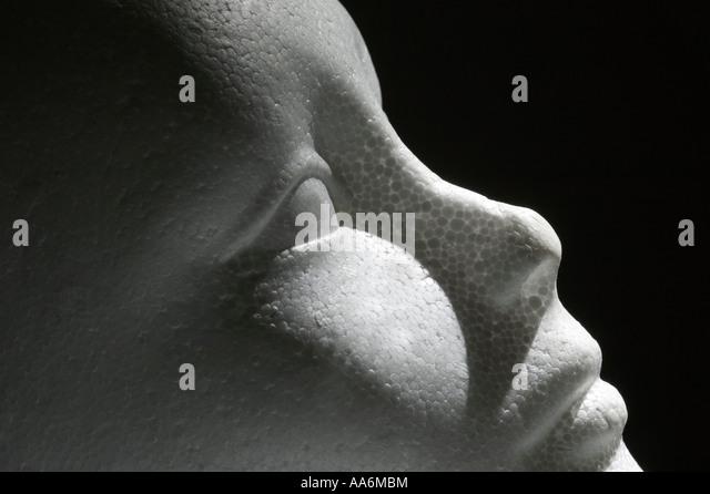 a false face - Stock Image