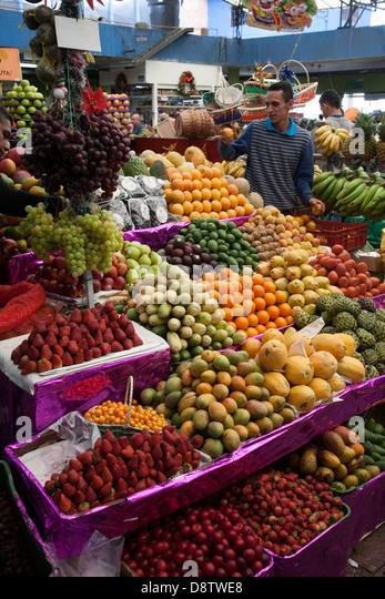 Paloquemao food market, Bogota, Colombia - Stock Image