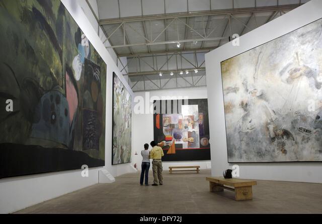 Manuel Felguerez abstract art museum. Zacatecas. Mexico - Stock Image
