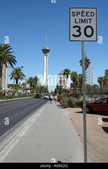 Stratosphere Hotel,Las Vegas, Nevada - Stock Image