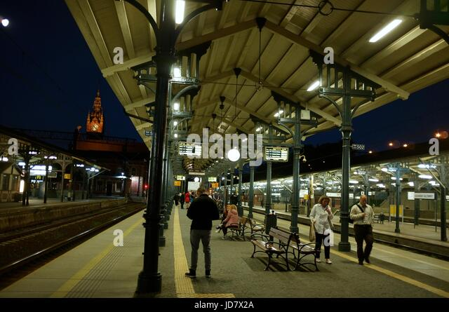 Gdansk Główny main railway station in Gdansk, Poland, central/eastern Europe. June 2017. - Stock Image