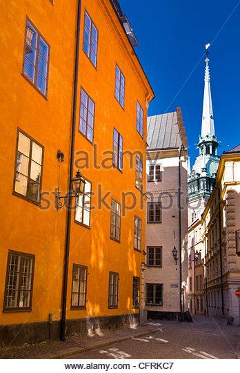 Gamla Stan, Stockholm, Sweden. - Stock Image