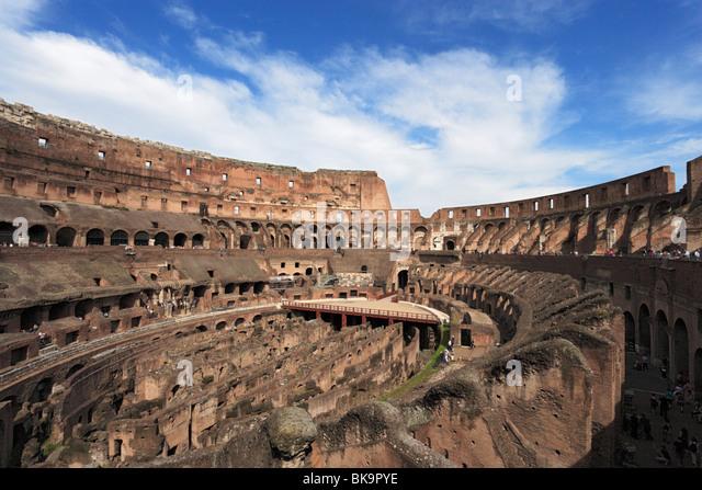 Colosseum Inside Stock Photos & Colosseum Inside Stock
