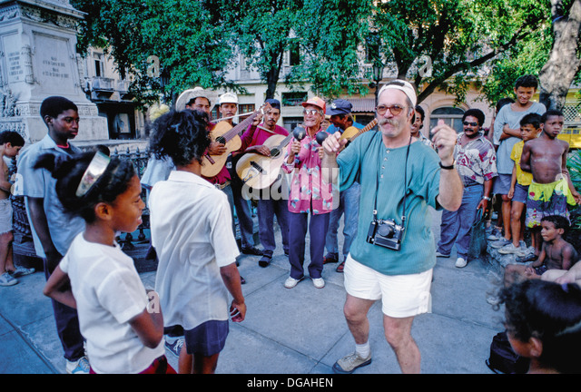 Dancing in the Street - Stock Image