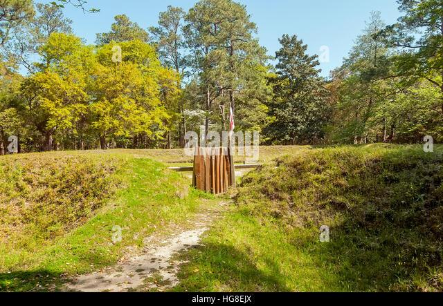 Fort Raleigh Historic Site Roanoke Island Manteo NC - Stock Image