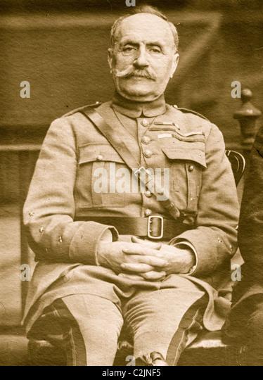 General Foch - Stock Image