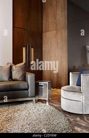 Michael Reeves interior design - Stock Image