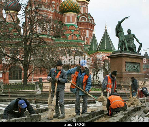 Migrant workers - Stock-Bilder