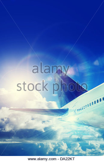 jet away - Stock Image