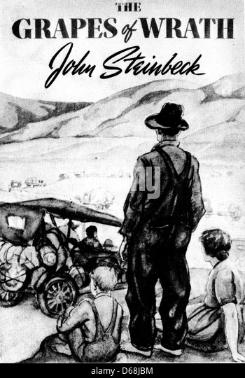 an analysis of joads journey in the grapes of wrath a novel by john steinbeck In steinbeck's novel, the grapes of wrath, he describes the struggle of the small  farmer and farmworker  the journey of the joads represents steinbeck's  message of respect for the  krystal giffen the grapes of wrath part 1: literary  analysis 1  the grapes of wrath, by john steinbeck was based on the joad  family of.