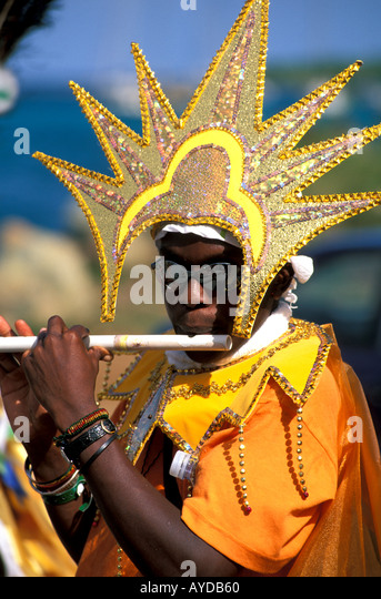 British Virgin Islands Emancipation Festival celebration festival - Stock Image