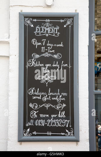 Pub Food Rose Street Edinburgh