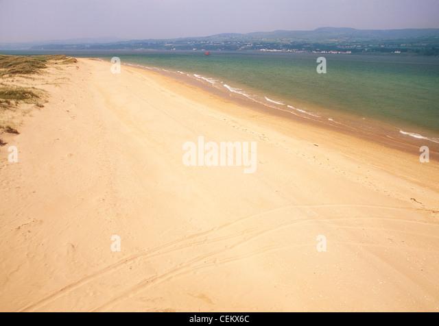 Co Derry, Lough Foyle, Magilligan Point, Ireland - Stock Image