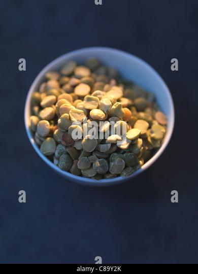 Split peas - Stock Image