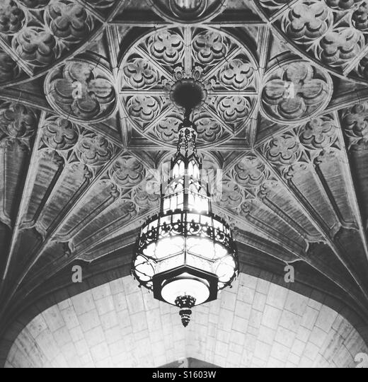 Philtower Building ceiling, Tulsa, Oklahoma - Stock-Bilder