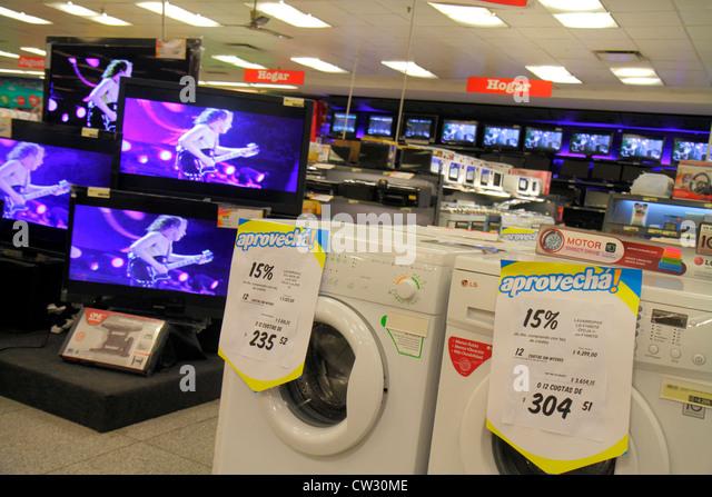 Argentina Mendoza Villa Nueva Mendoza Plaza Shopping department store business household appliance major domestic - Stock Image