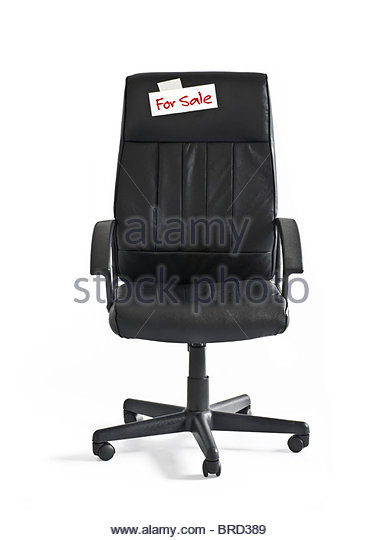 office chair for sale - Stock Image
