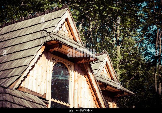 Chocholow stock photos chocholow stock images alamy - Traditional polish houses wood mastership ...