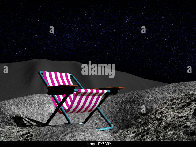 Space tourism, conceptual artwork - Stock Image