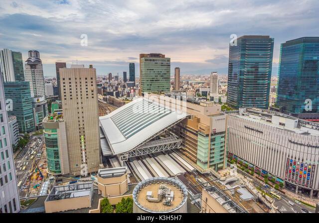 Japan, Osaka City, Osaka Station, - Stock Image