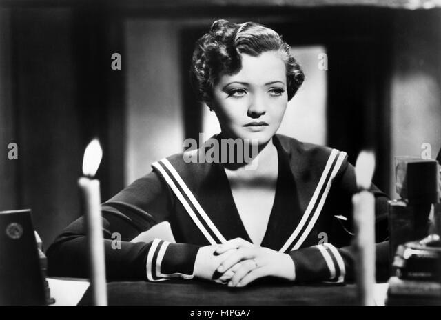 Sylvia Sidney / Sabotage / 1936 directed by Alfred Hitchcock - Stock Image