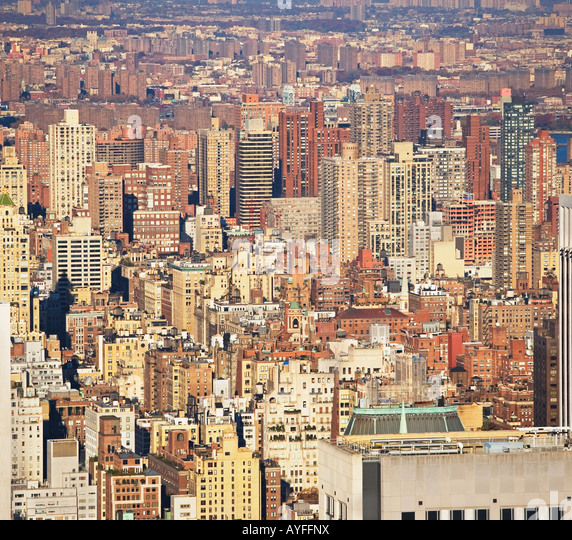 New York City, buildings - Stock Image