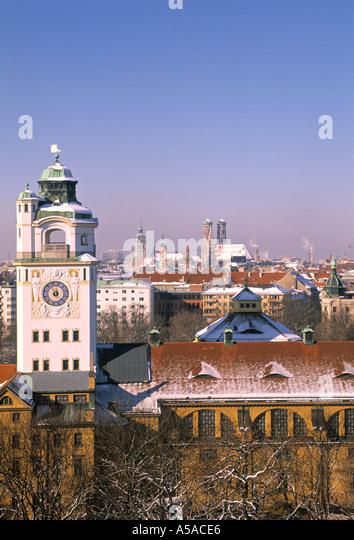 Munich, Bavaria, Germany - Stock Image