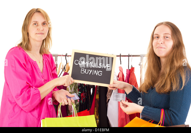 compulsive buying The truth about compulsive buying disorder thousands of people suffer from one type of addiction or another, from alcoholism or substance abuse to compulsive eating.