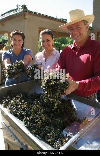 Albuquerque New Mexico Rio Grande Valley Casa Rodena Winery W - Stock Image