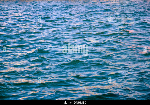 Waves in the sea, Barcelona, Catalonia, Spain - Stock-Bilder