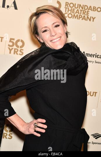 New York, NY, USA. 29th Feb, 2016. Mary Stuart Masterson at arrivals for Roundabout Theatre Company 2016 Spring - Stock Image